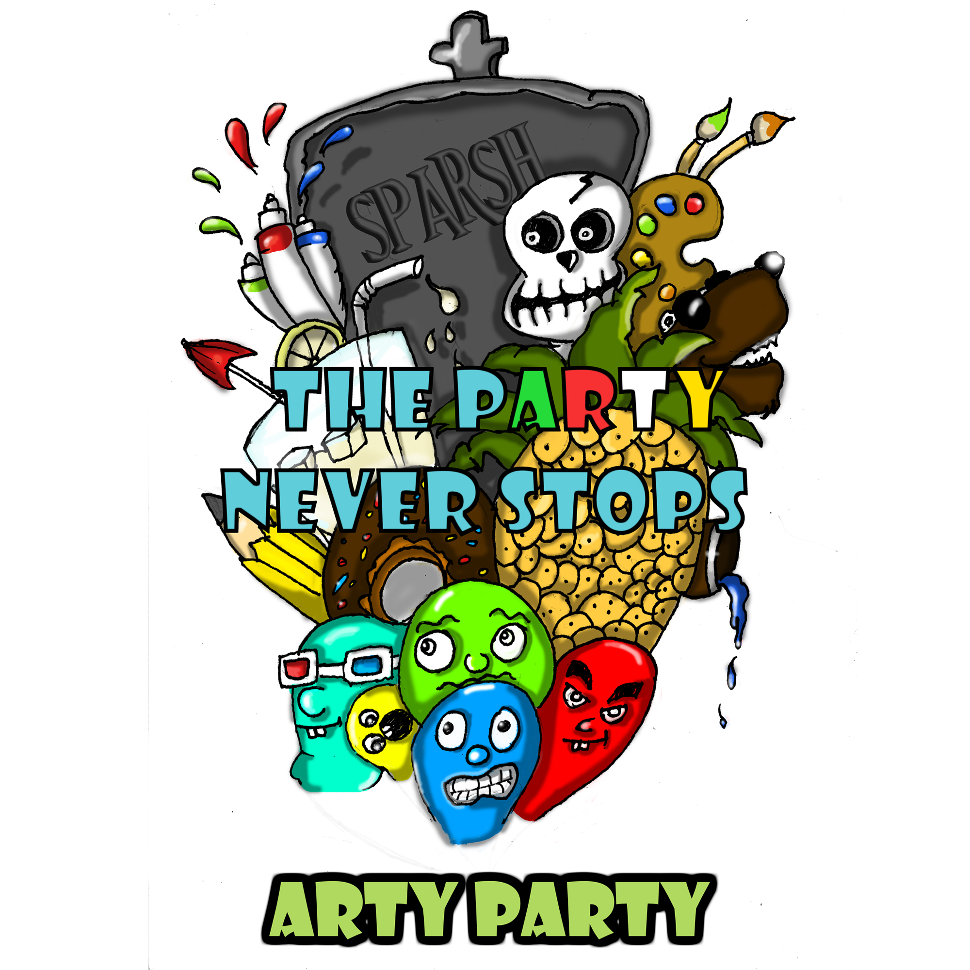 The Arty Party (Main Artwork)