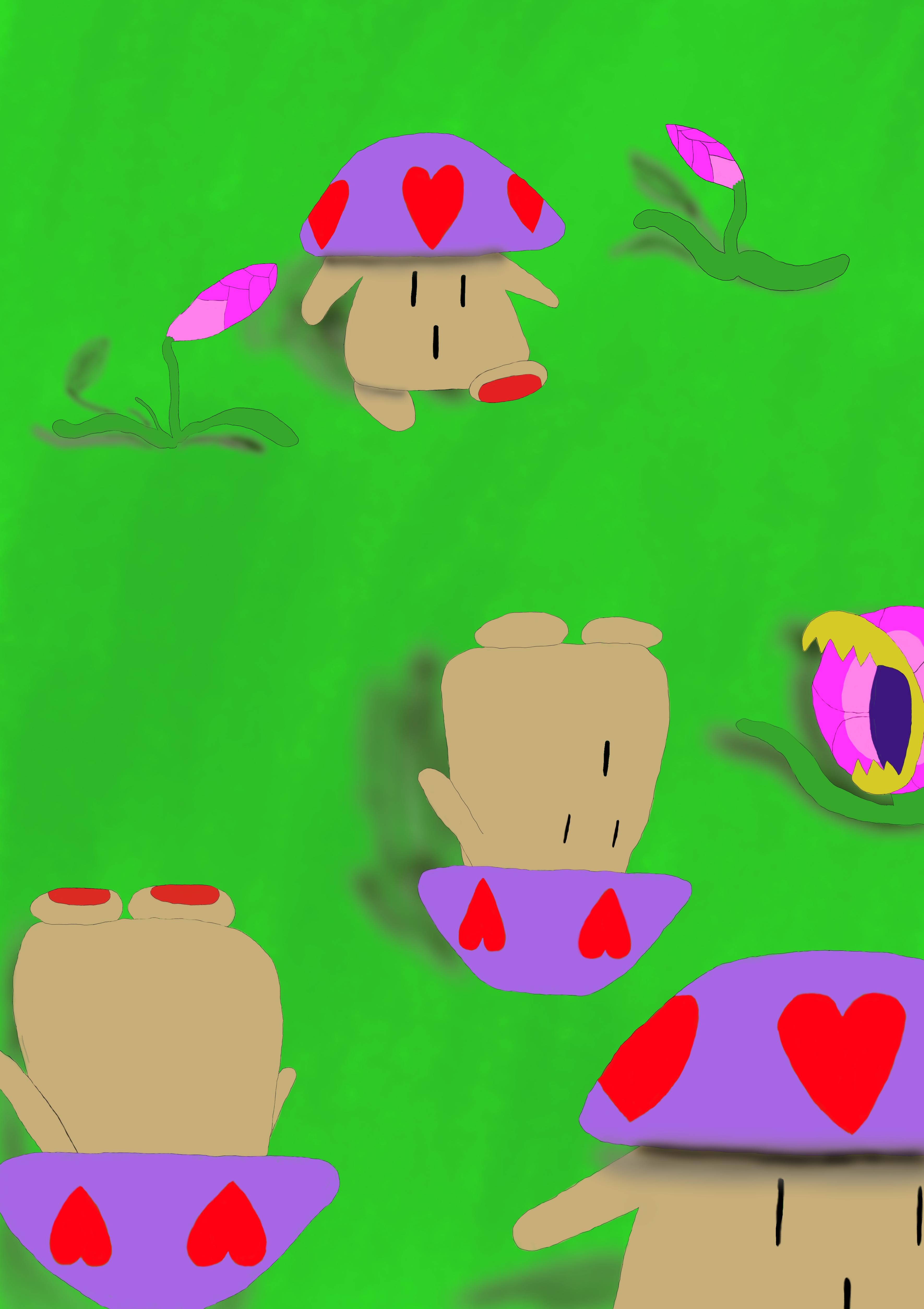 Spinning Mushrooms