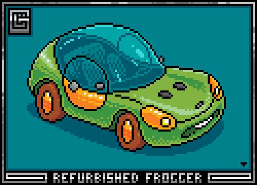 Refurbished Frogger