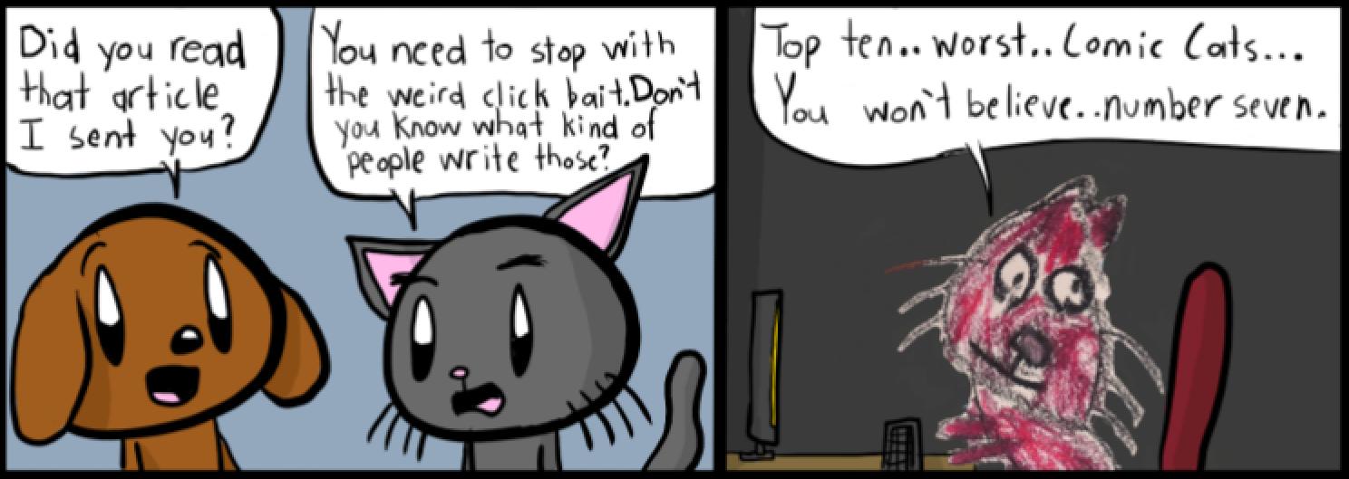 Comic Cat: Not Clickbait