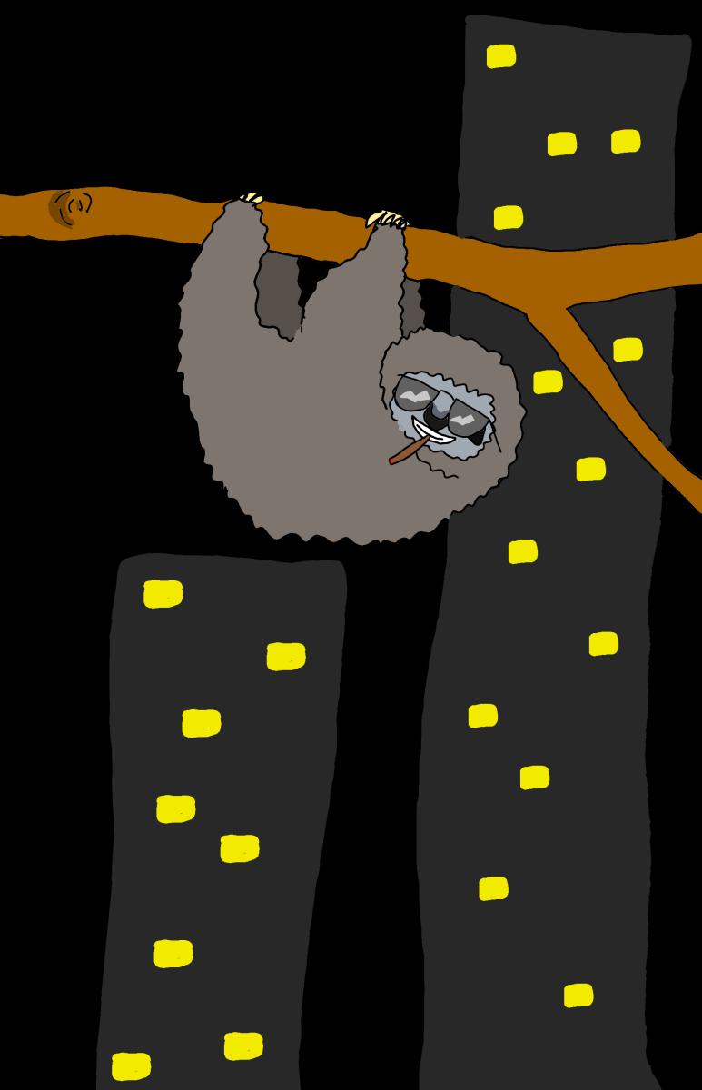 dope sloth