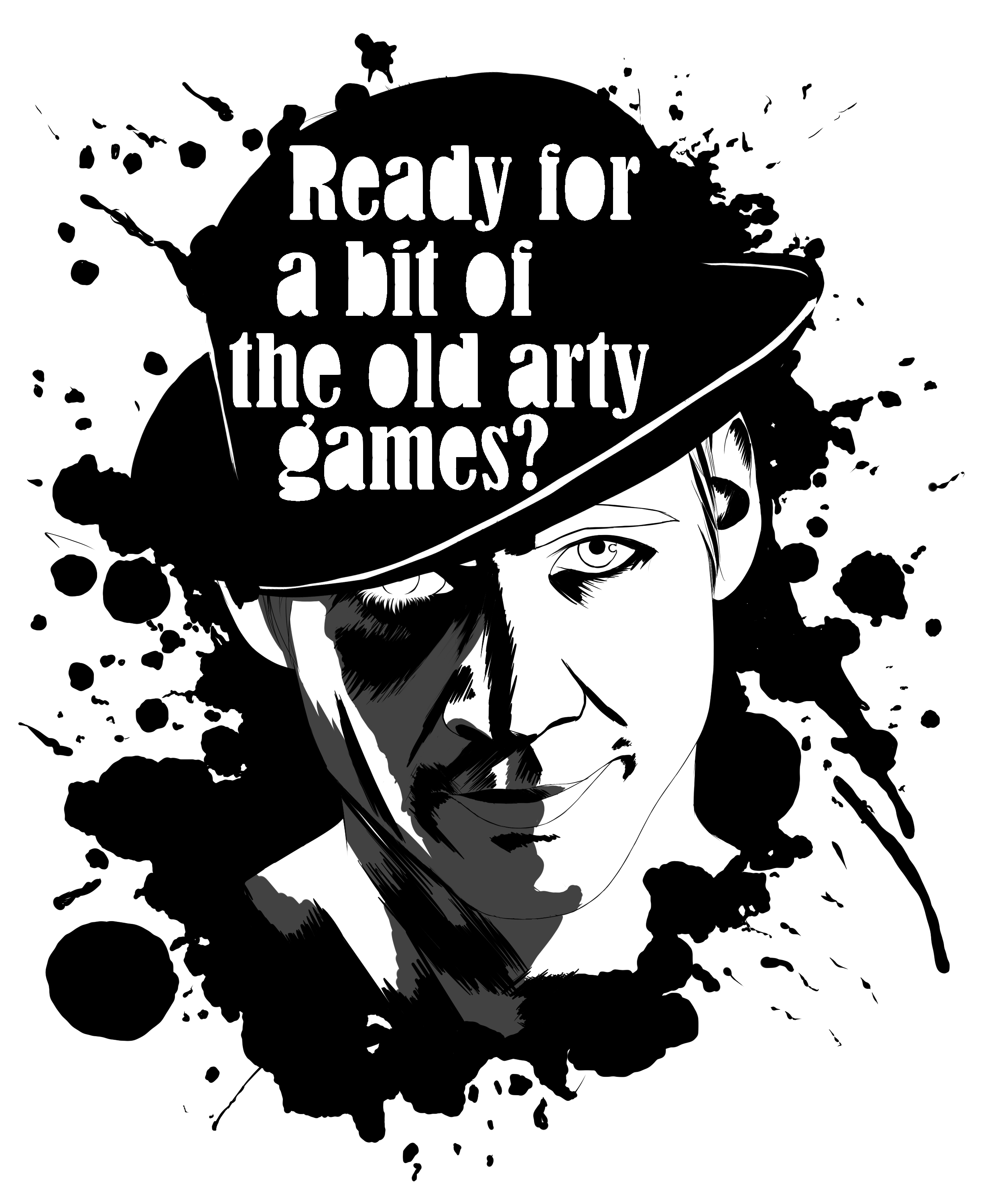 Ready for a bit of the old arty games?