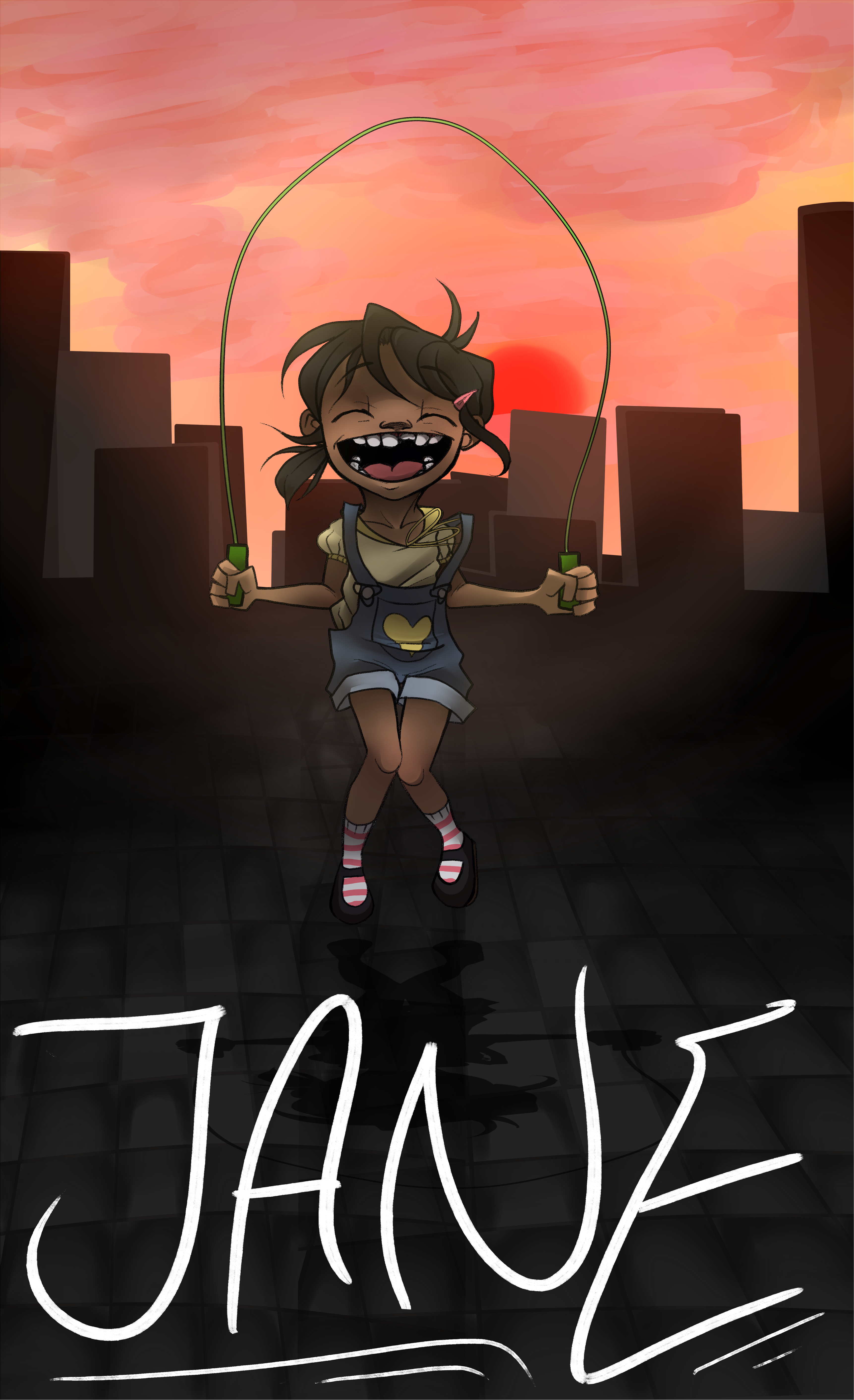 Jane comic cover page