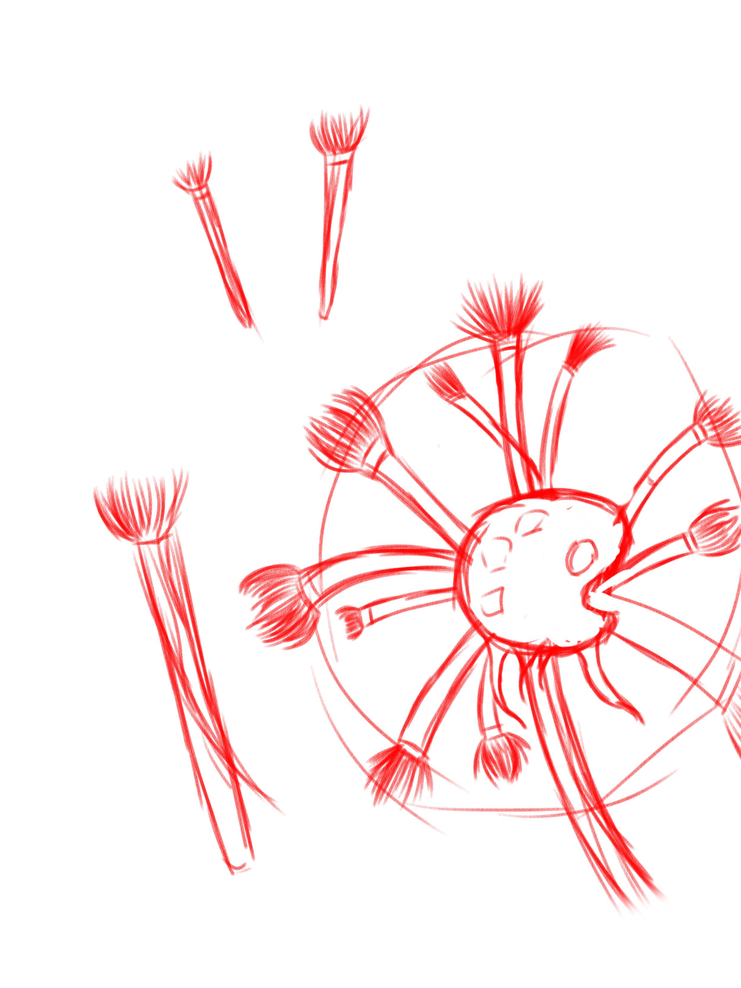 W.I.P for Brush-dandelion