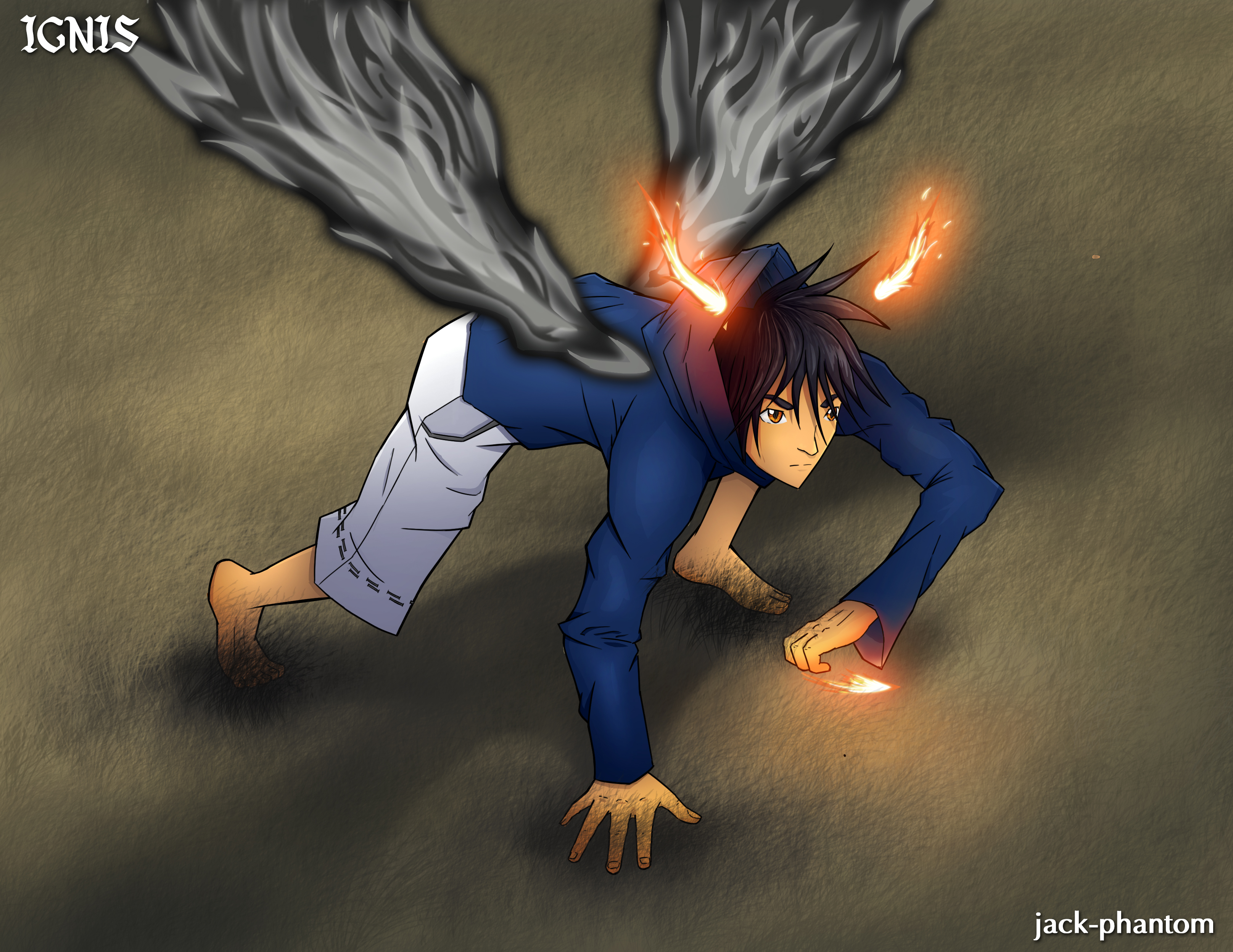 The Blackfire Demon