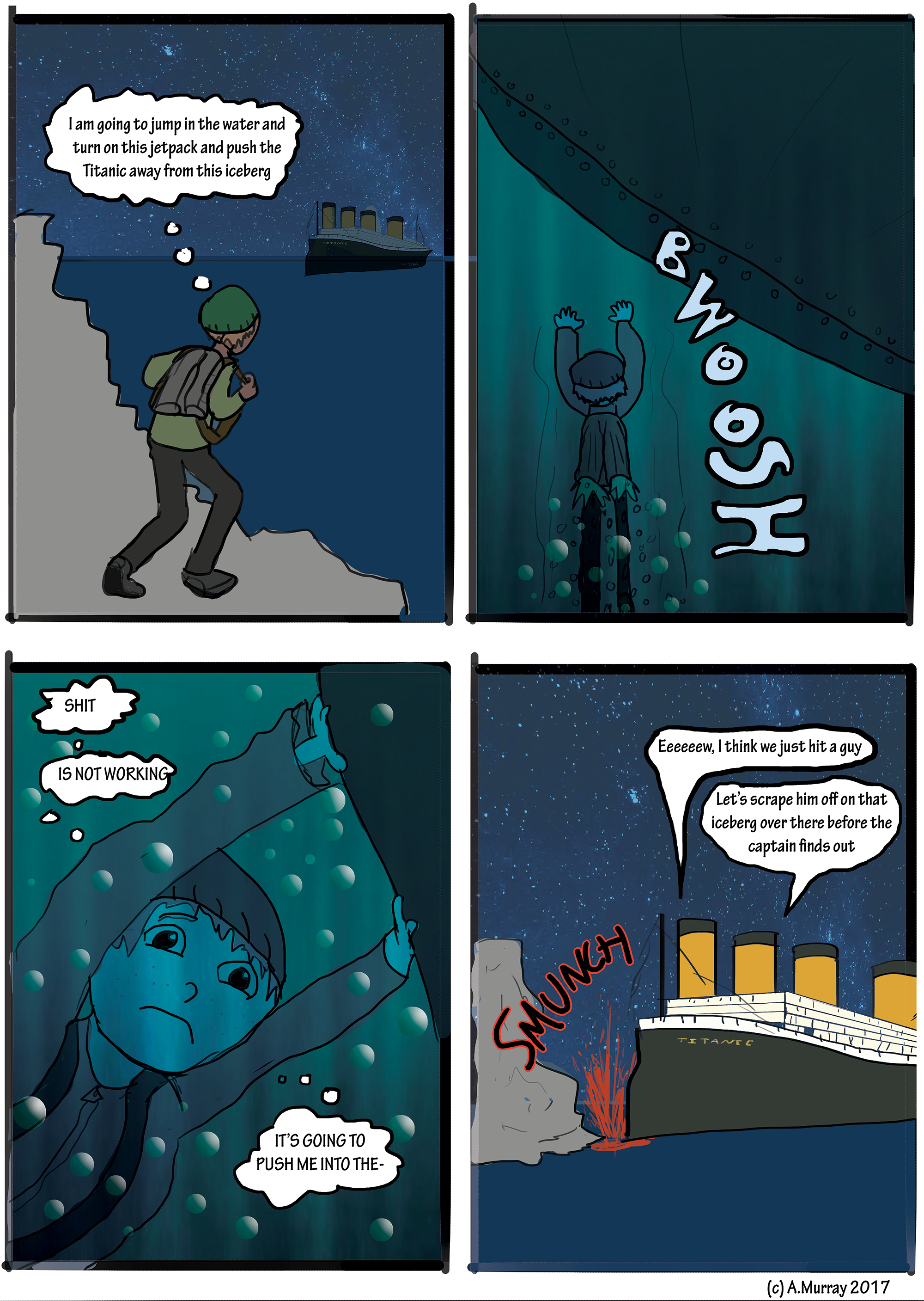 Qwerty Saves the Titanic