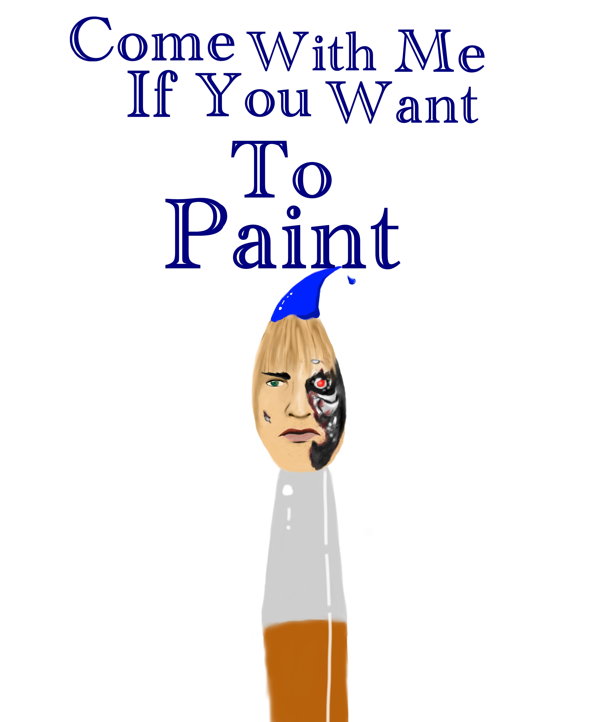 come with me if you want to paint