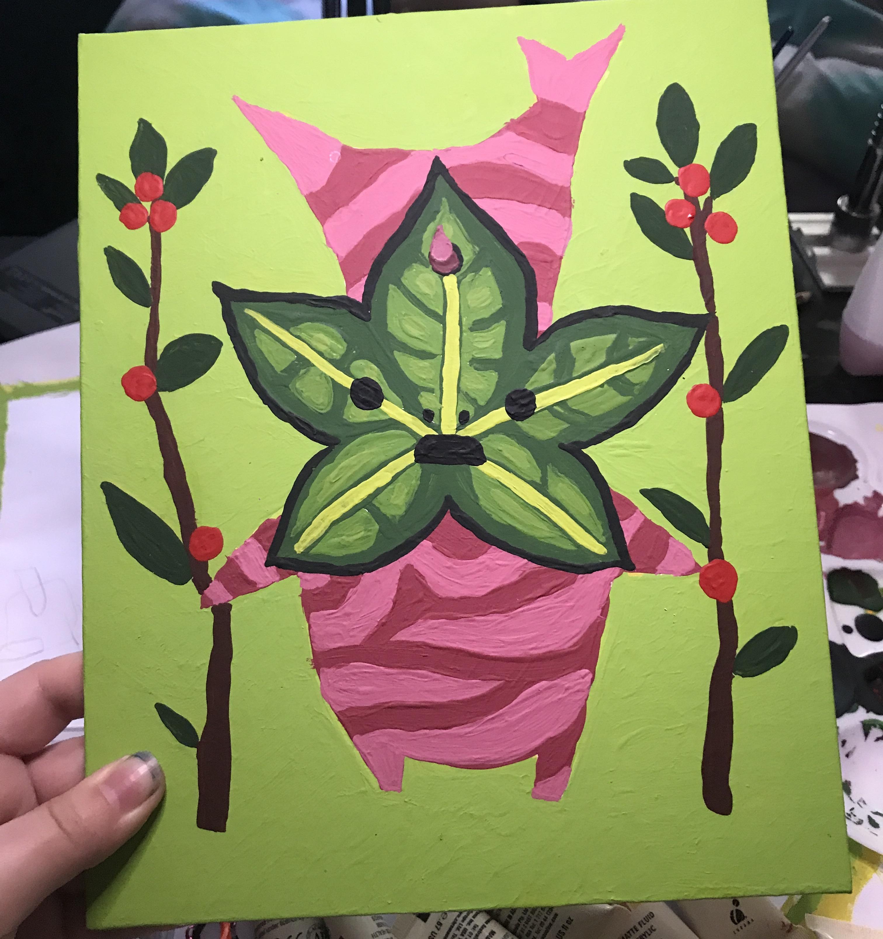 Korok Acrylic painting!