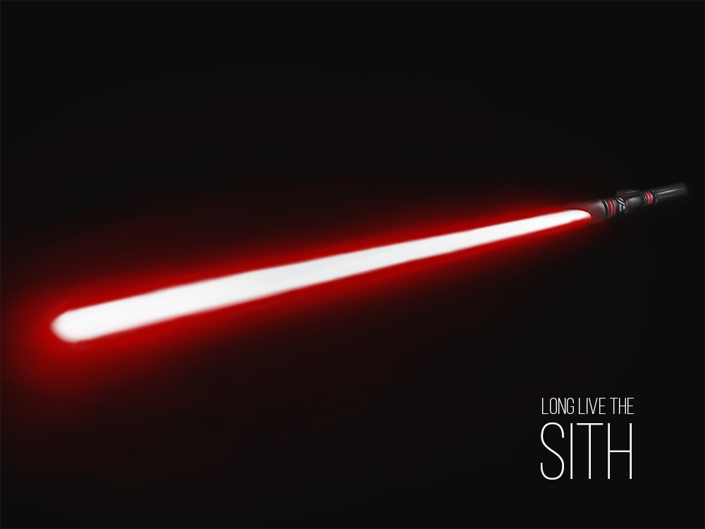 Long live the sith