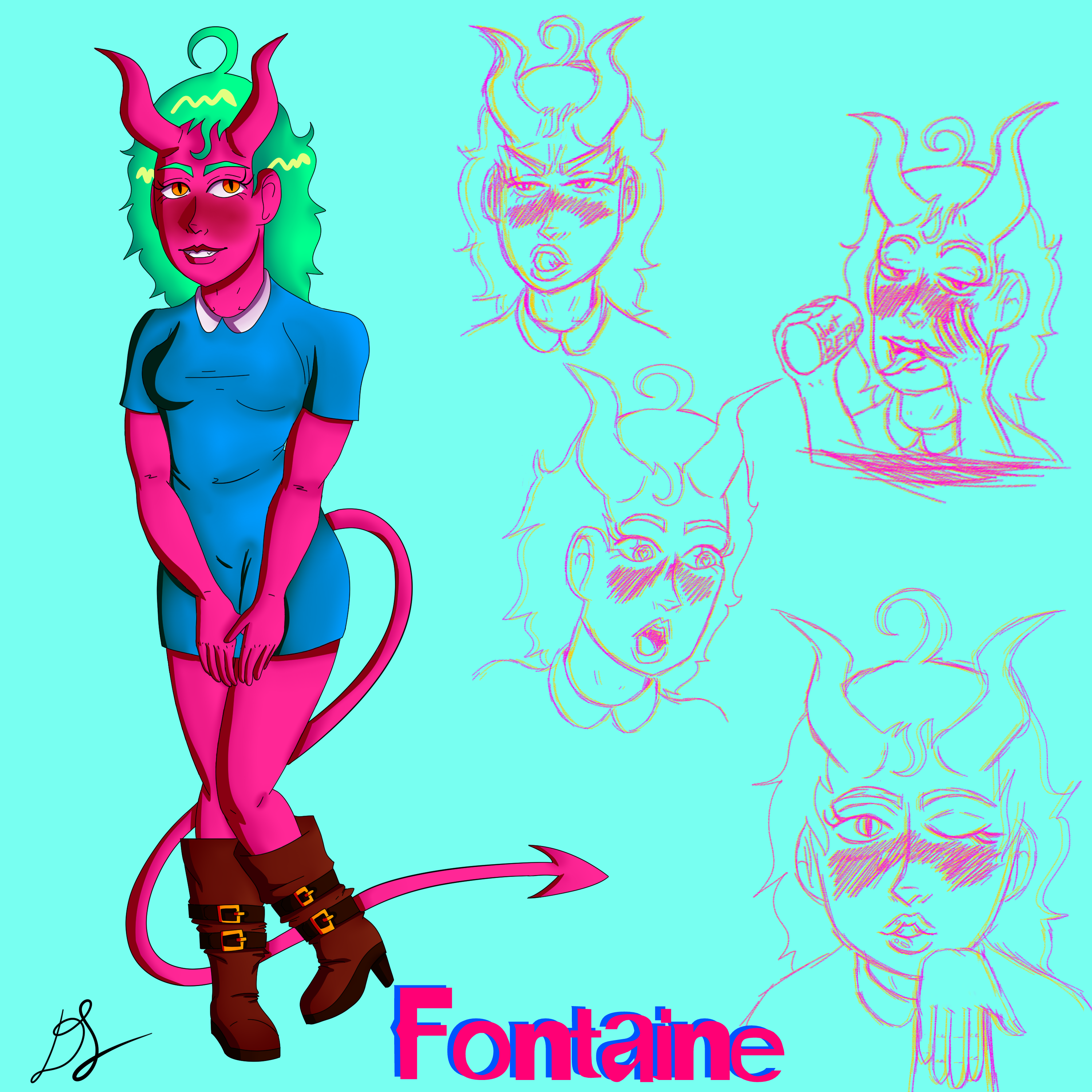 Fontaine Character Sheet