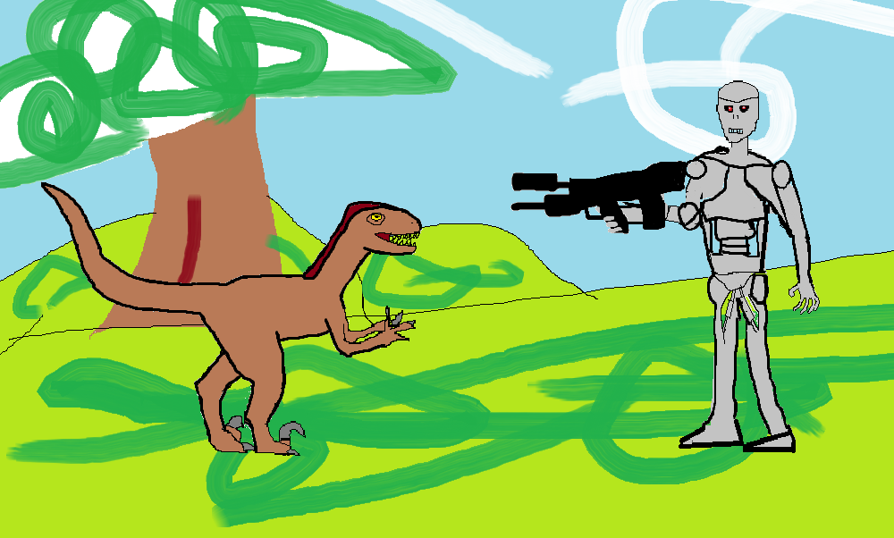 Raptor vs Terminator