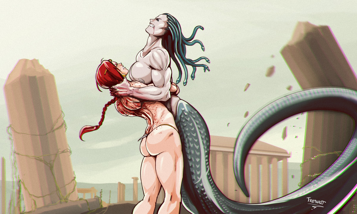 Red vs Medusa 3