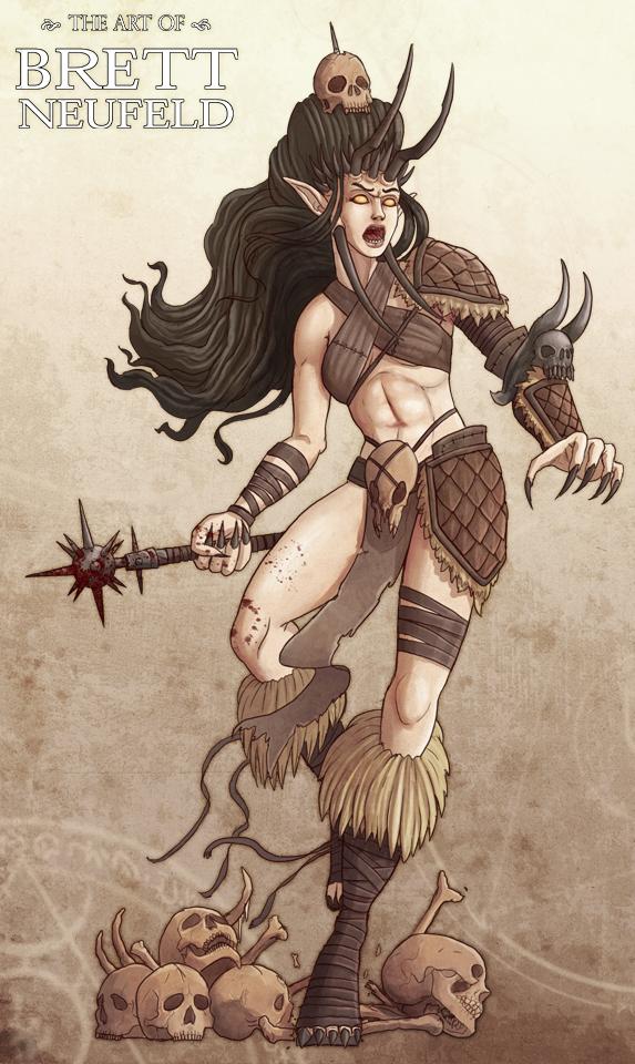 Barbarian Abomination