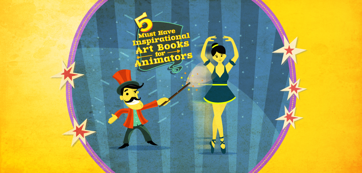 5 Must-have inspirational art books for all creative animators