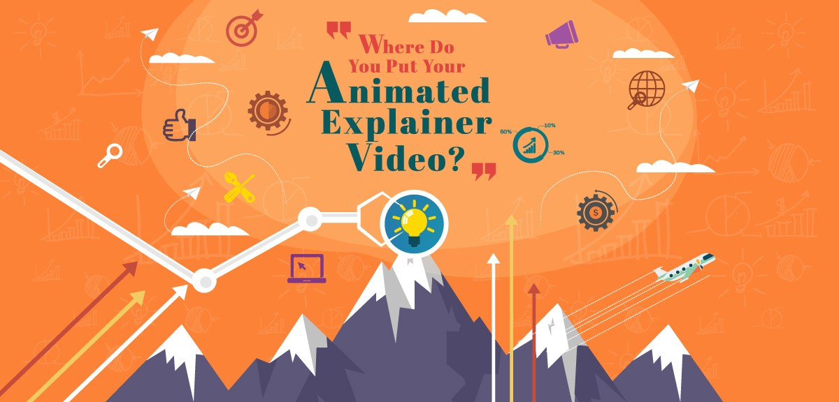 Where are you planning to put your Animated Explainer Video?
