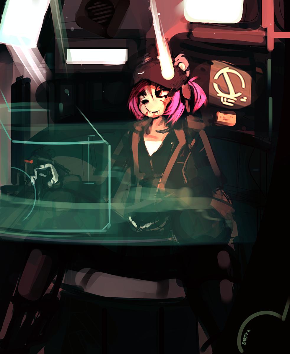 Tigress mech pilot (1/3)