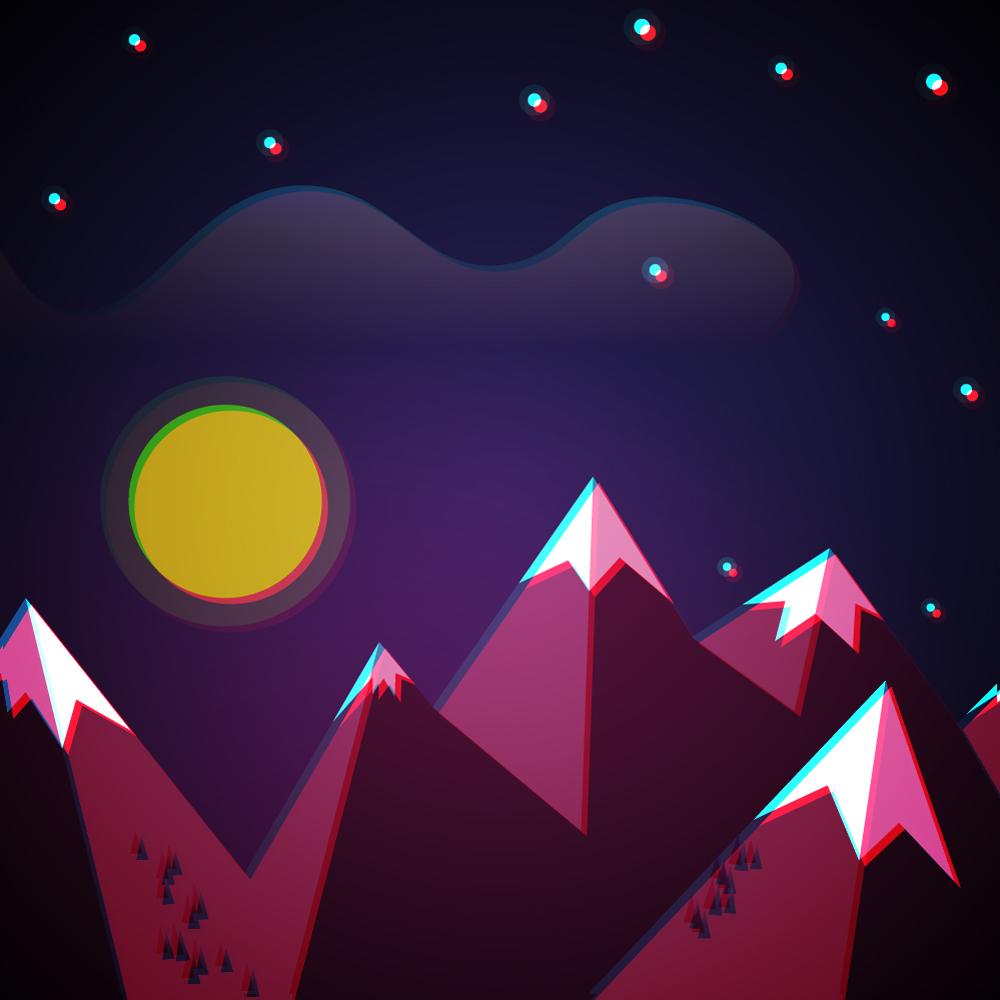 A Purple Night