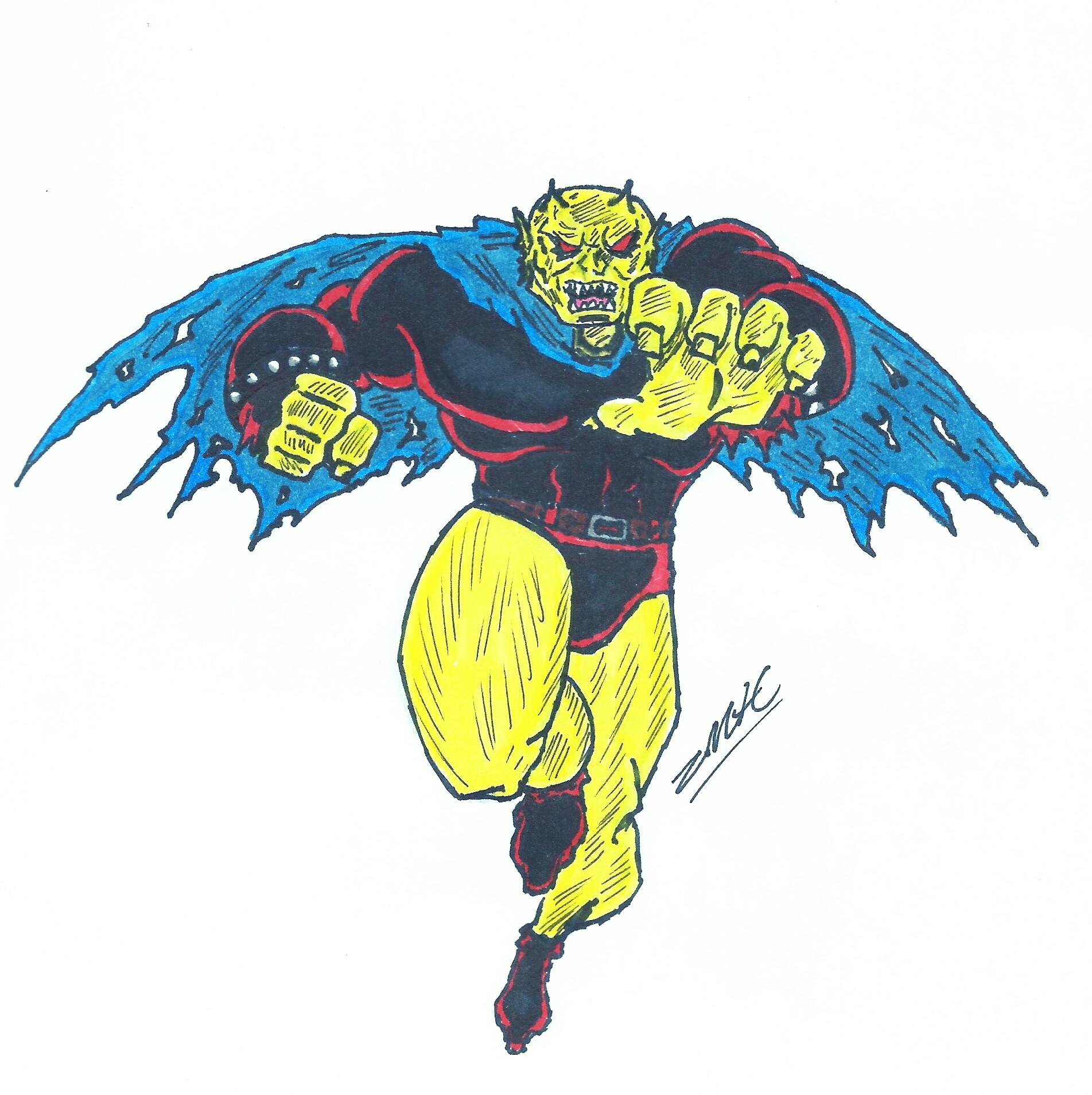 DC comic's the Demon (fanart)