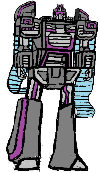 Messy artwork of Treadshock (Minutemen)