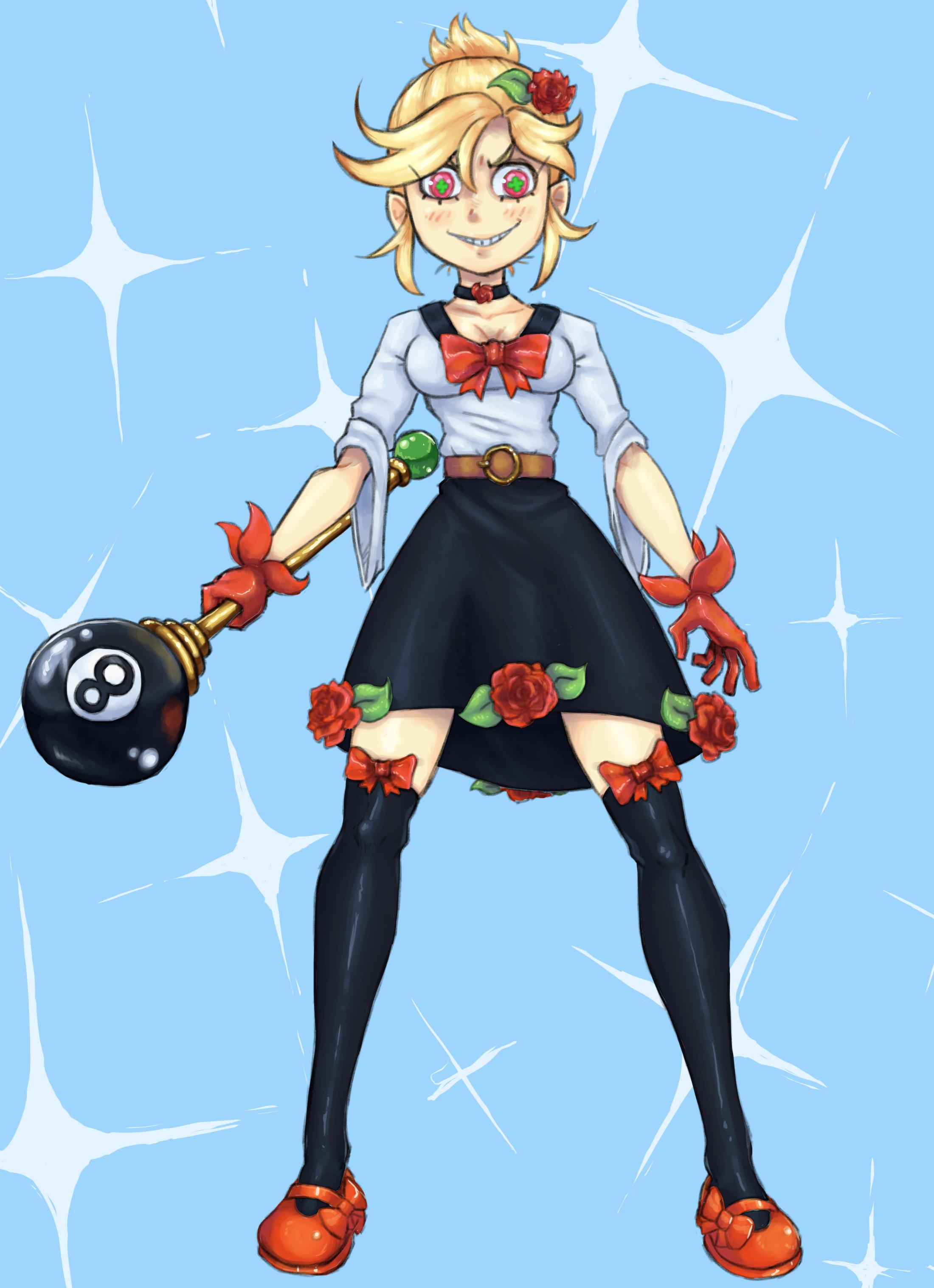 magical girl or something