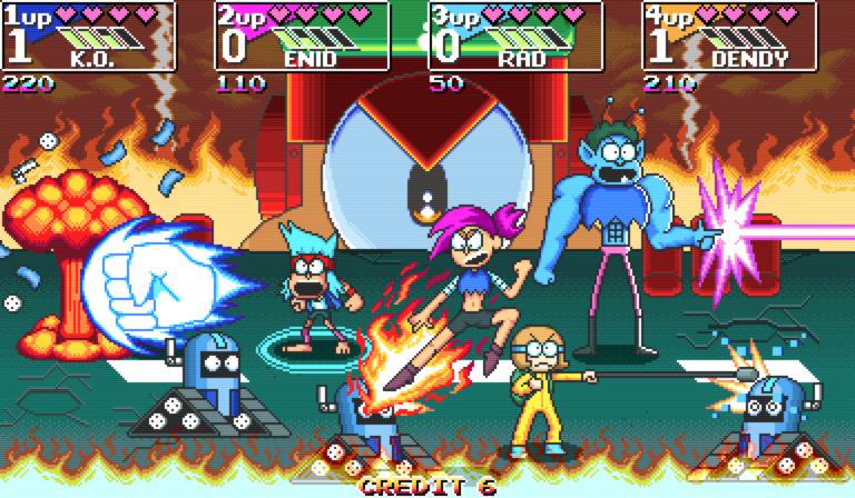OK K.O. Let's be Heroes Turbo
