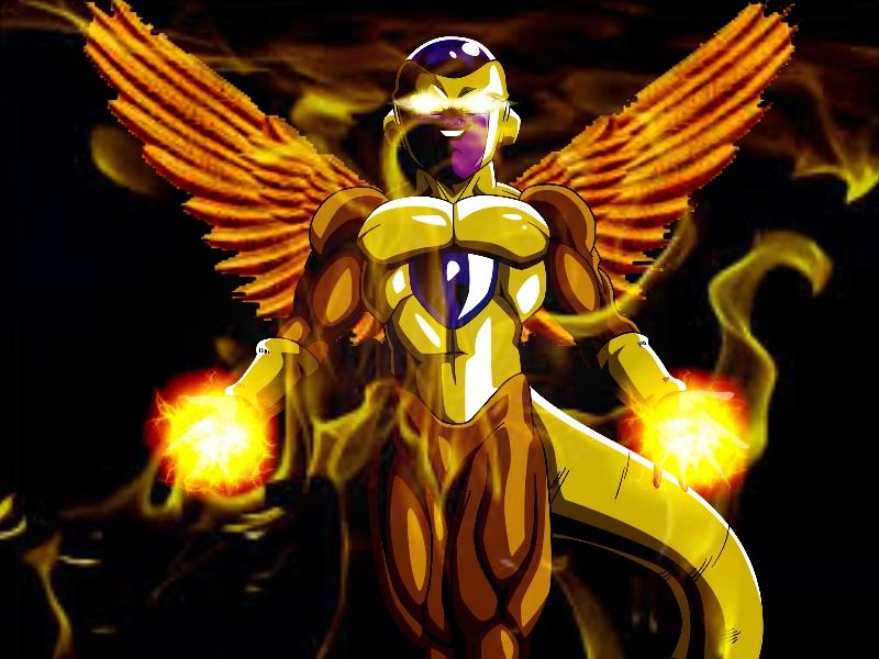 Golden Frieza (Lightning God)