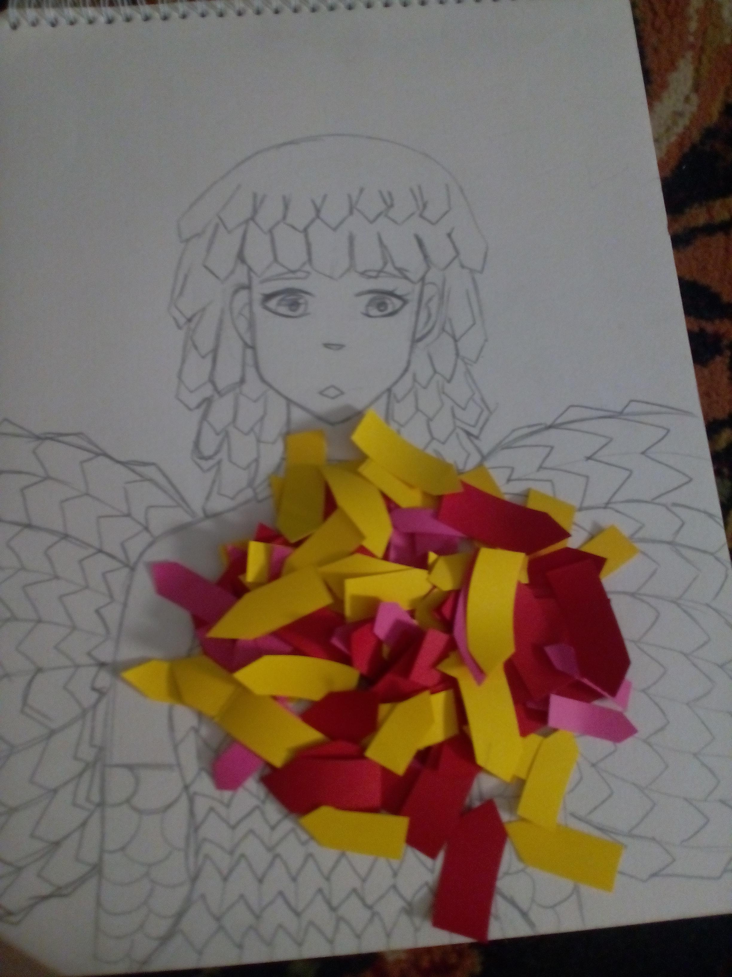 WIP Colorful Wings