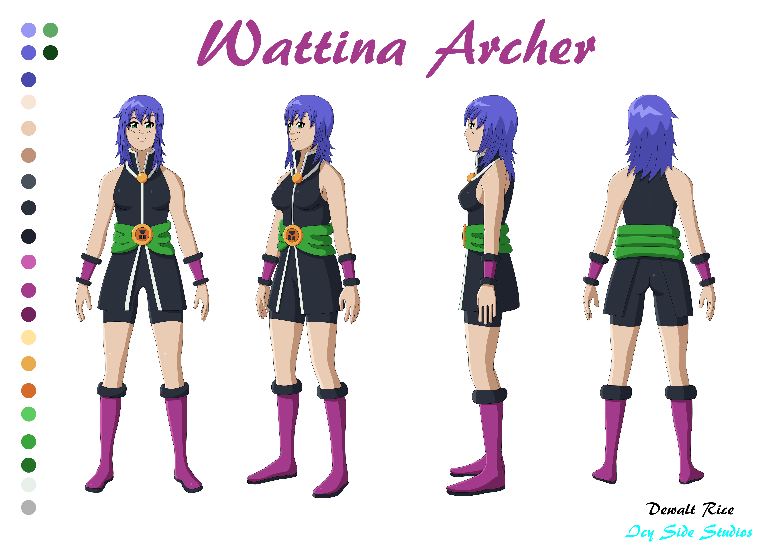 Wattina Archer (Crow Barr Arc) Turnabouts