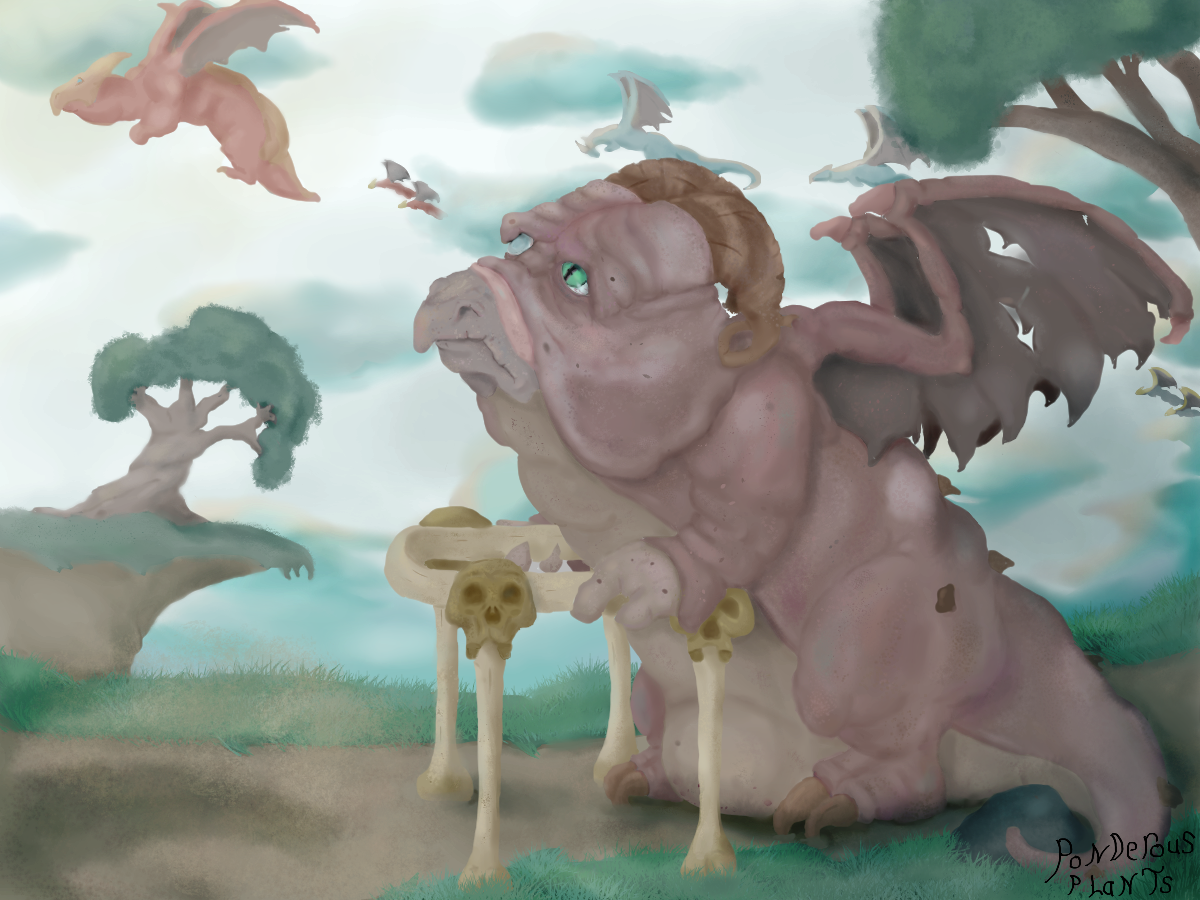 Elderly Dragon