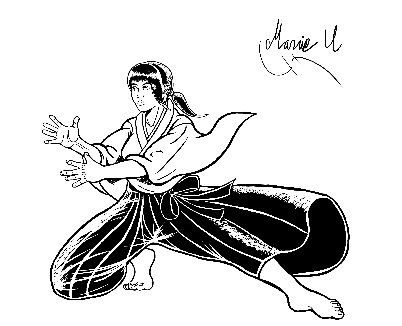 Aoi Umenokoji from Virtua Fighter Inked