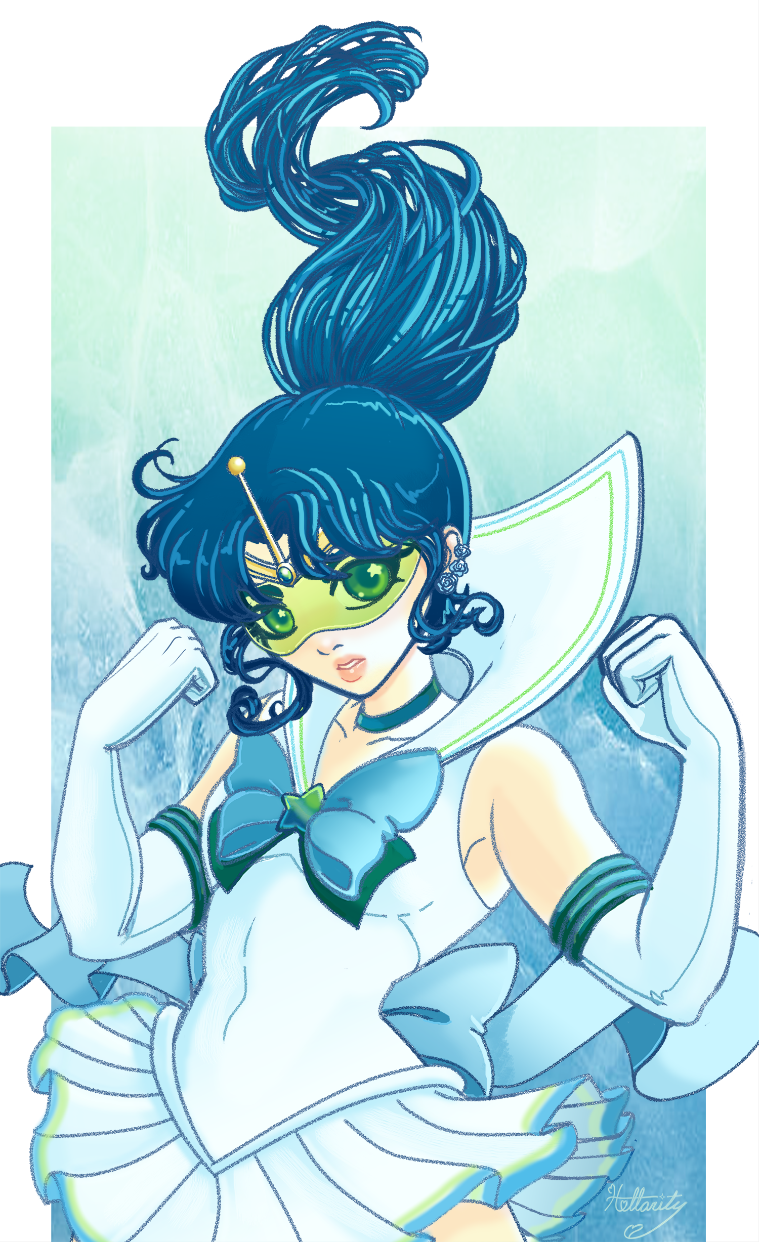 Sailor Fusions- Ice Storm