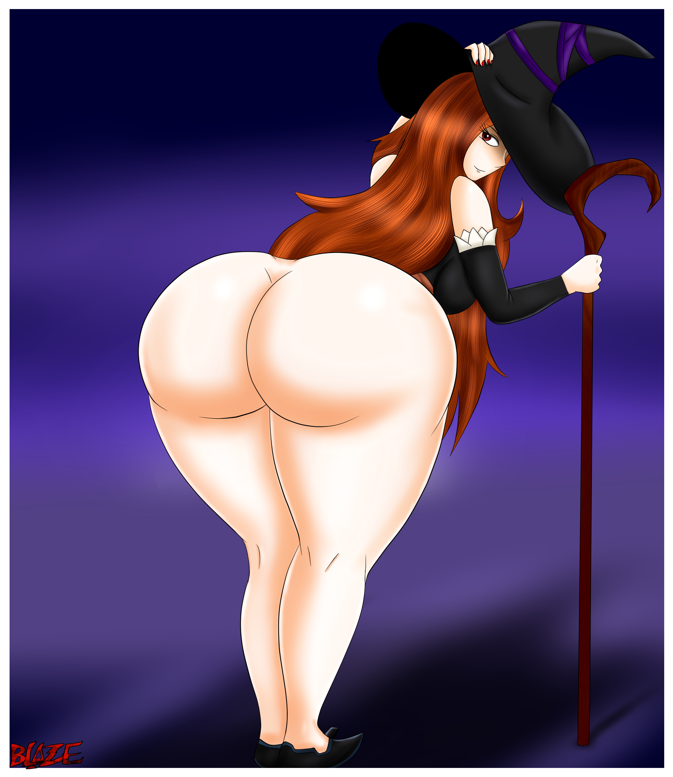 Sorceress from Dragons Crown Booty