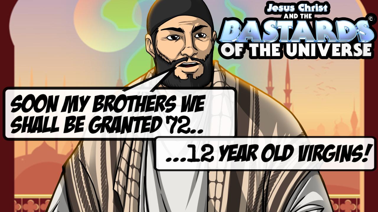 Muslims love 12 year old virgins