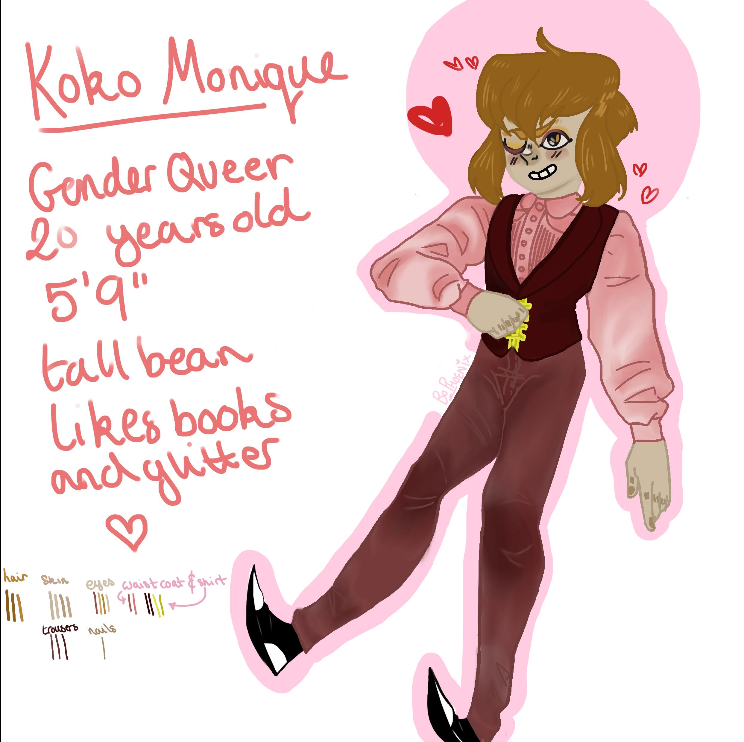 Koko Monique (art swap)