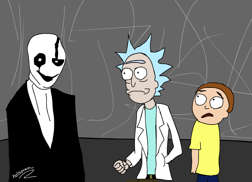 Rick and Morty Meet Gaster