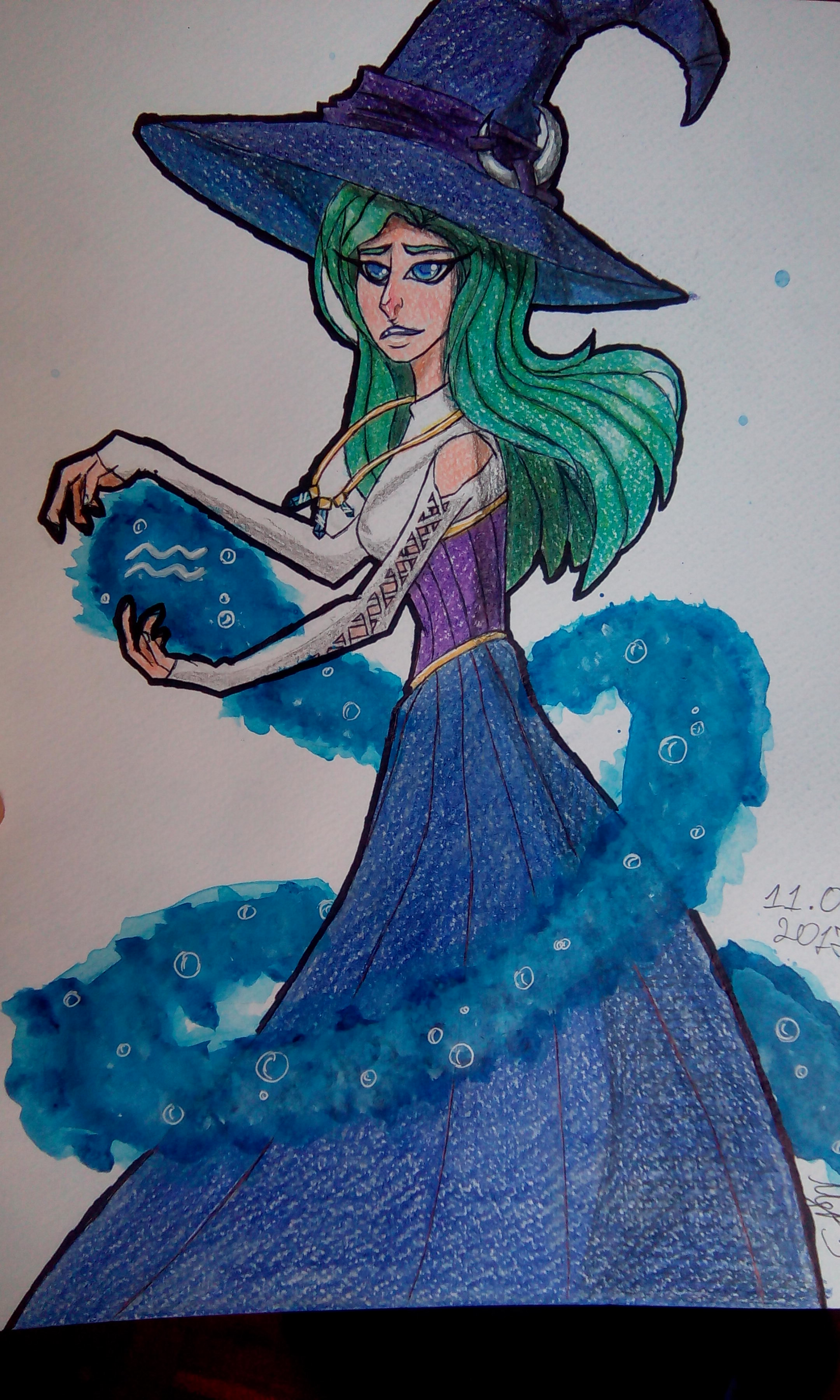 YTAC Zodiac - Auarius/Water Witch