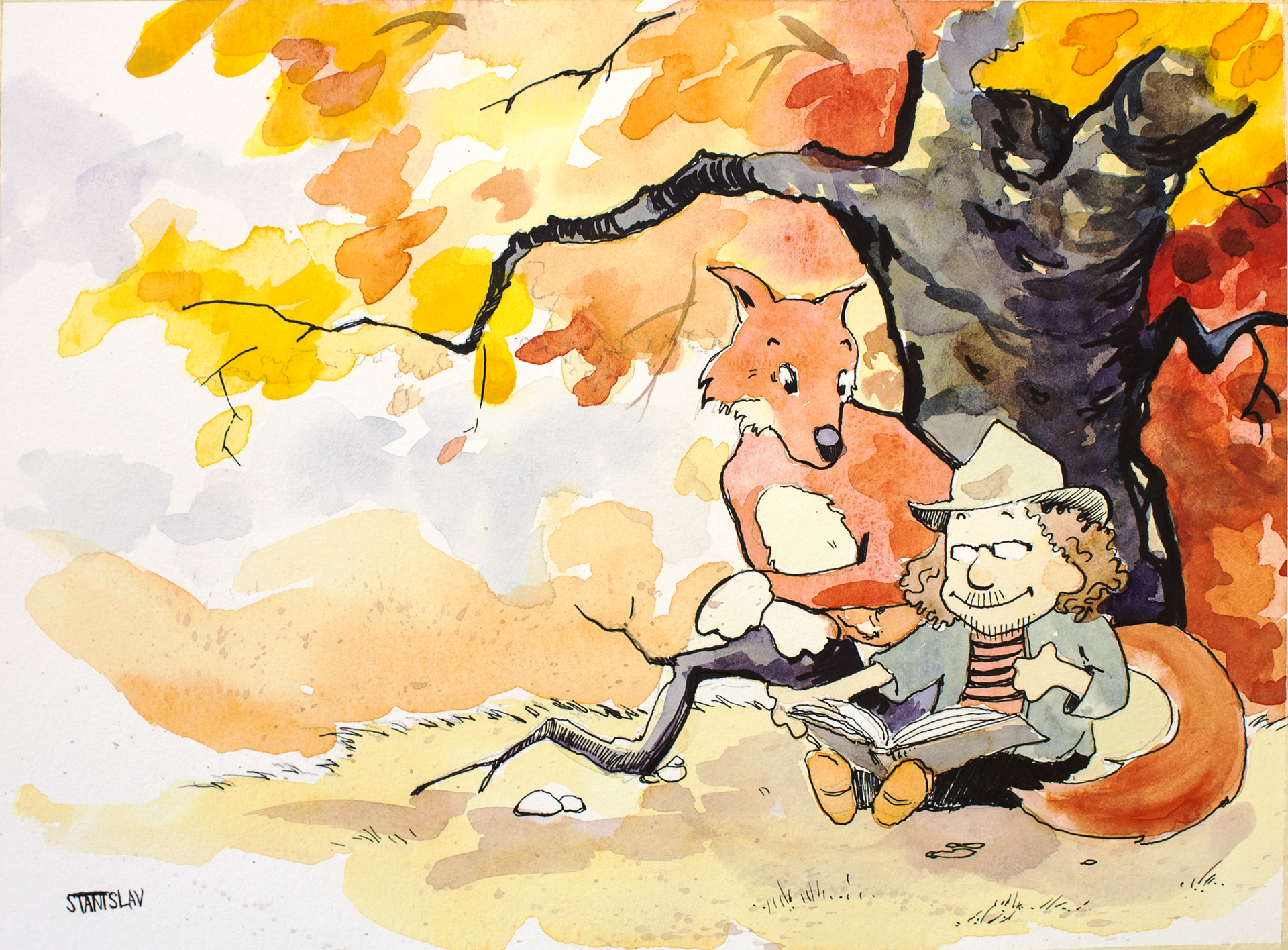 Calvin and Hobbes commission