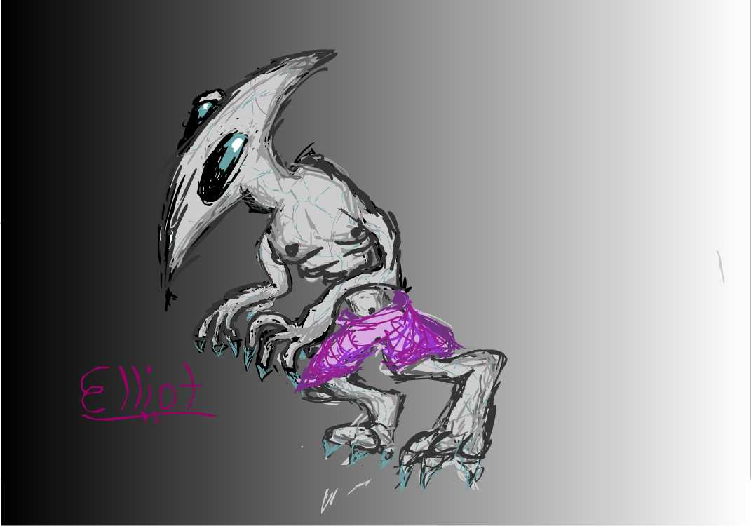 Elliot ze Alien