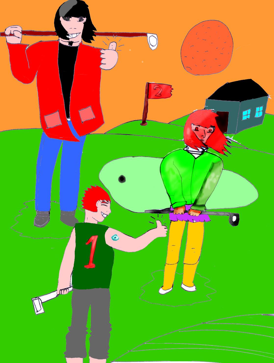 Mini-golf art