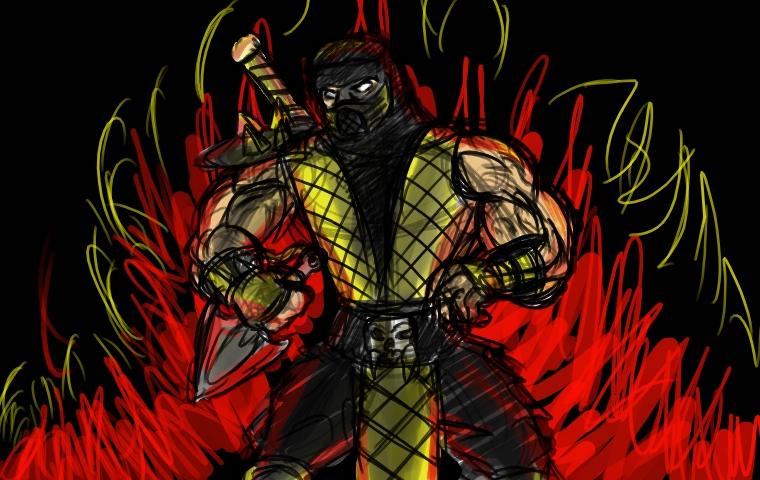 Scorpion Quick Doodle