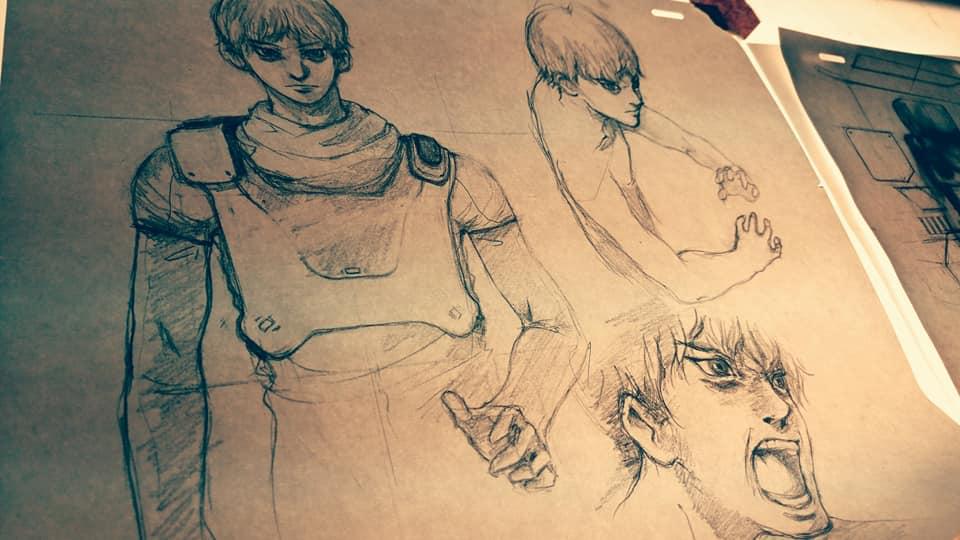 Tristan (concept sketches 1)