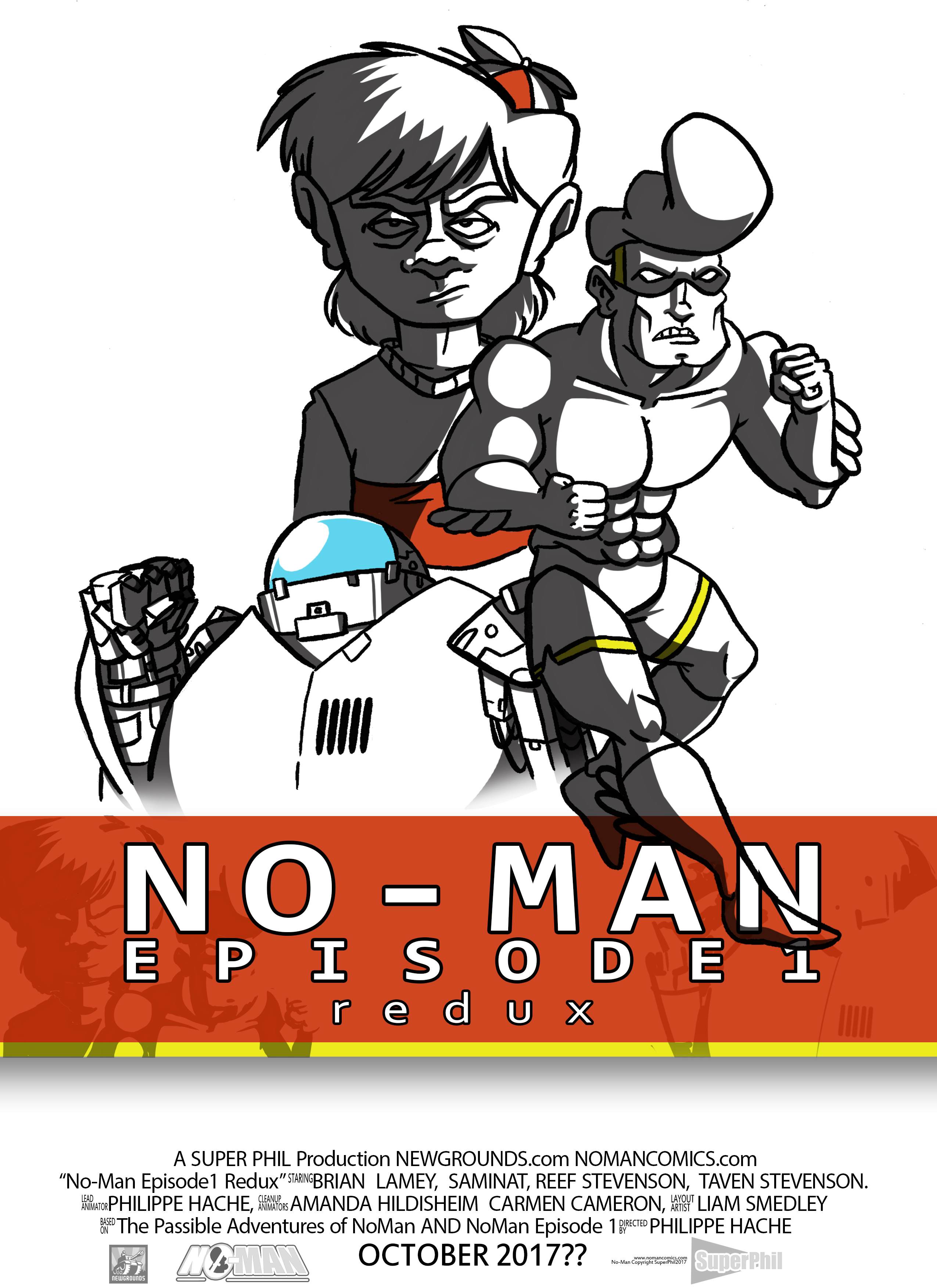 NoMan Ep1 Redux Poster