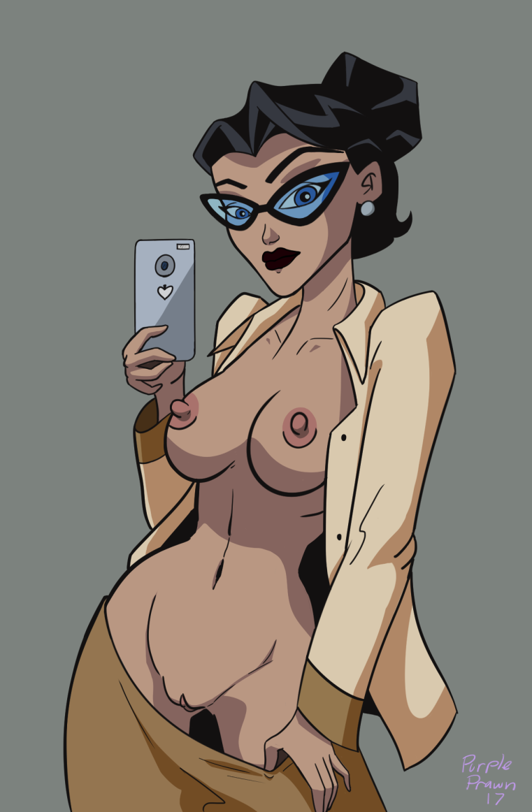Catwoman Selfie, I Guess