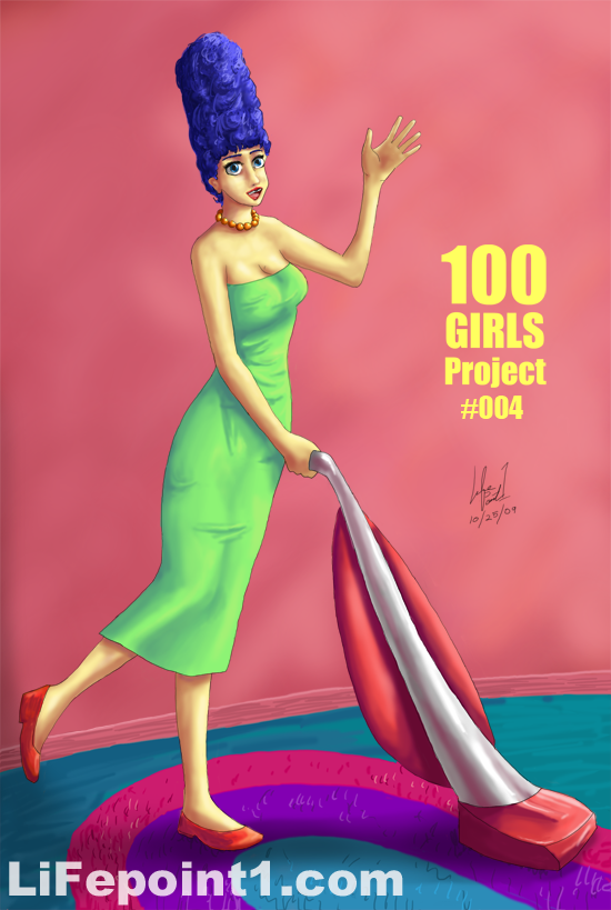 100 Girls Project #004