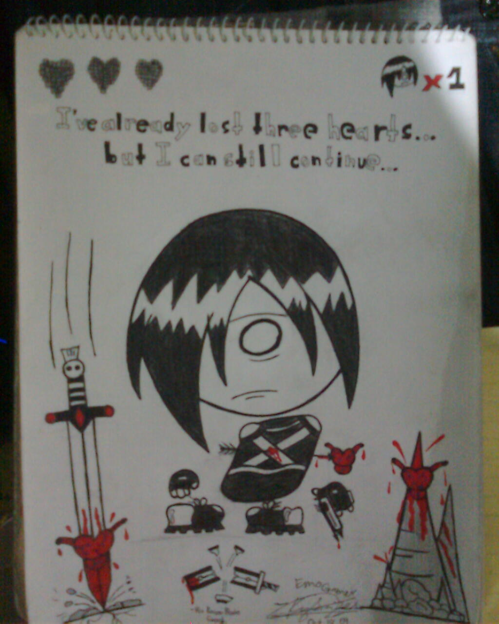 Emo-Gamer