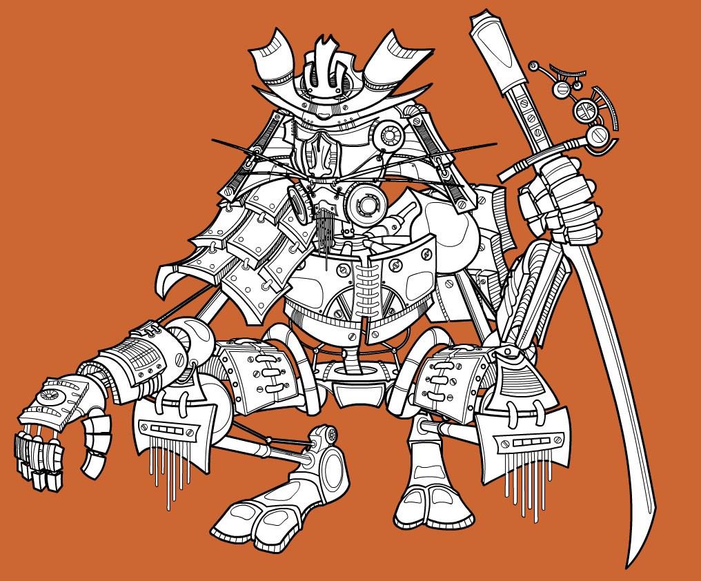 Mechanical Samurai