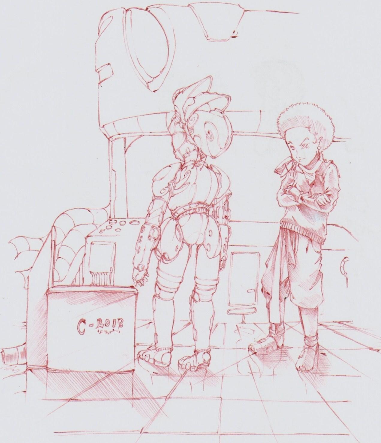 Boy and his machine