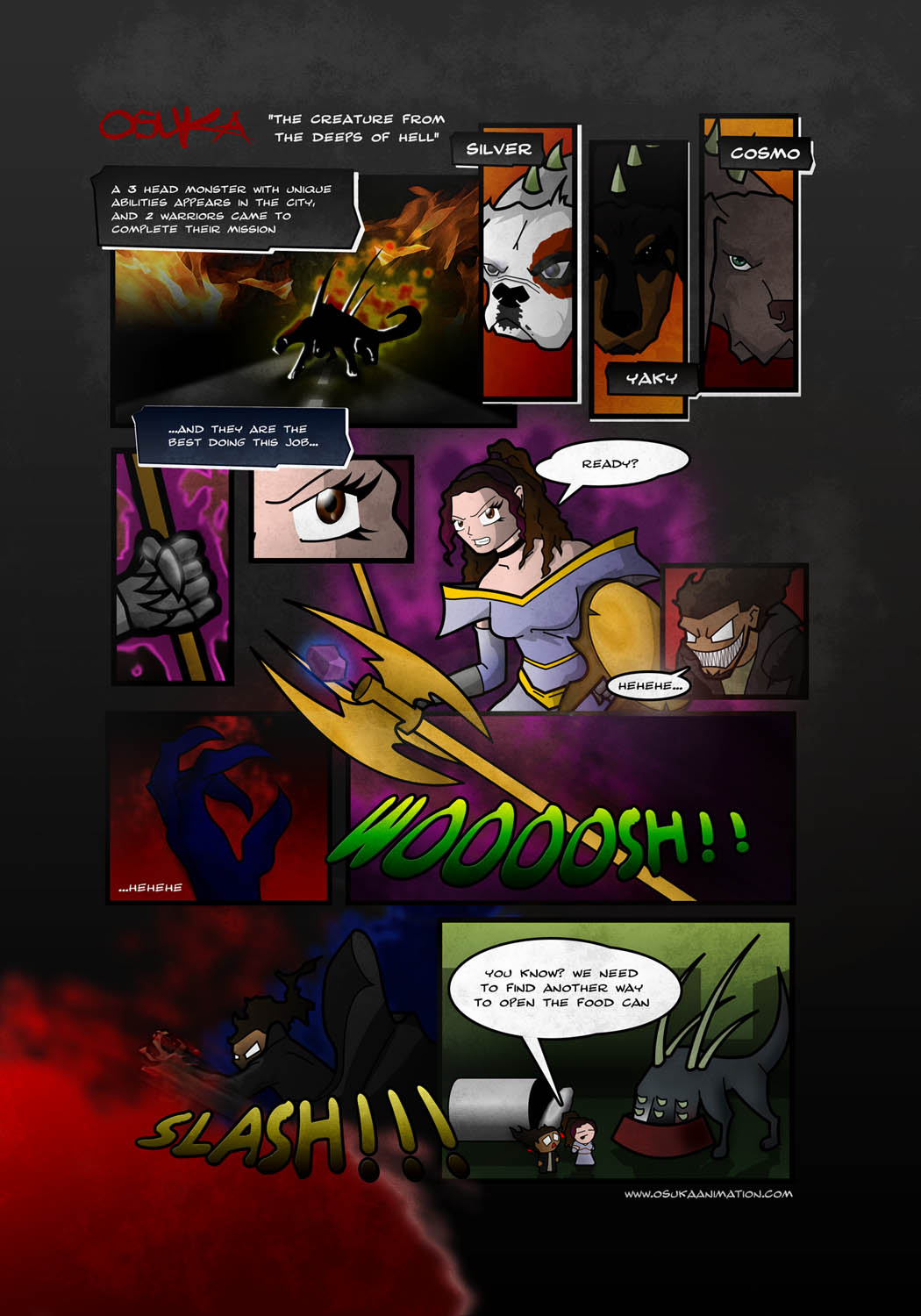 One Shot Comic - TCFTDOH