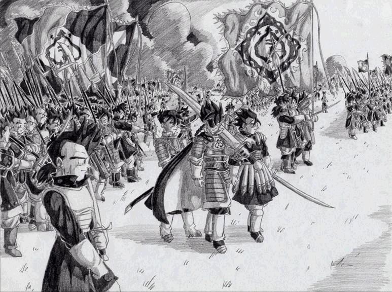 Samurai Saiyan March.