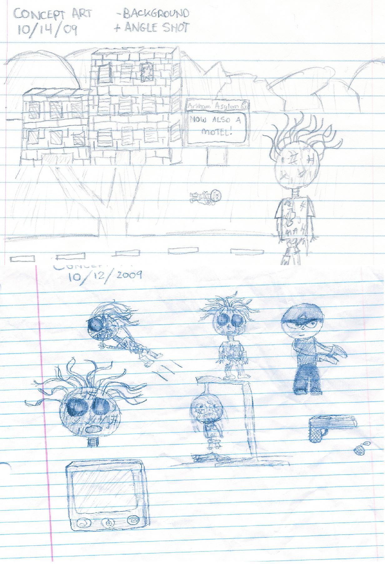 The Undead Menace Concept Art